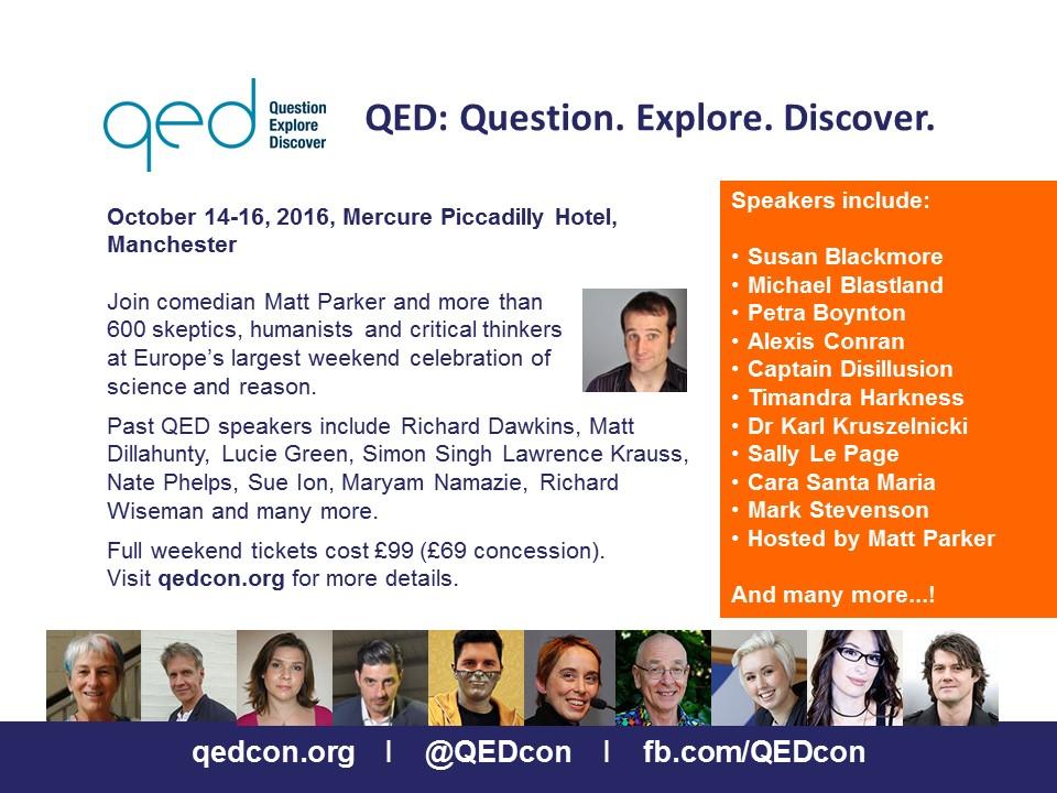 QED Con 2016